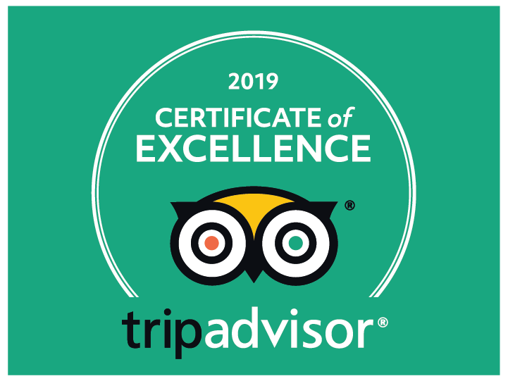 Trip Advisor Certificate of Excellence - Hotel Corfu Secret Winner 2019